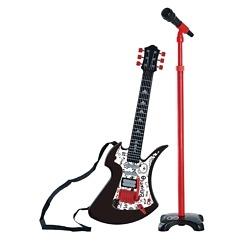 Kitara ja mikrofoni