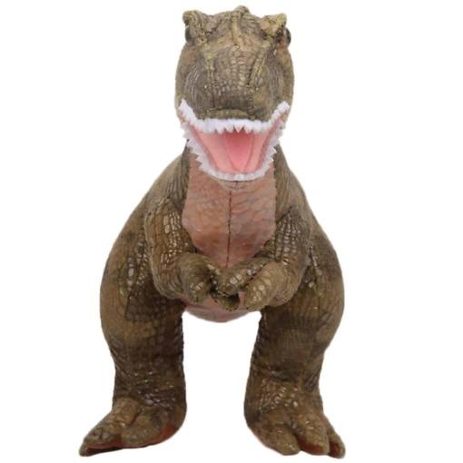 Pehmolelu T-Rex edestä