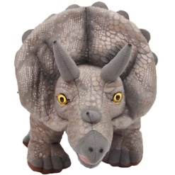 Pehmolelu Triceratops edestä