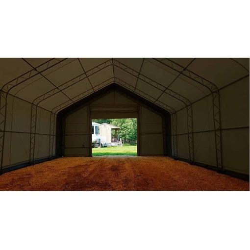 Pressutalli 12.2 x 6.1 x 4.88 m, 900g/m² Ranch