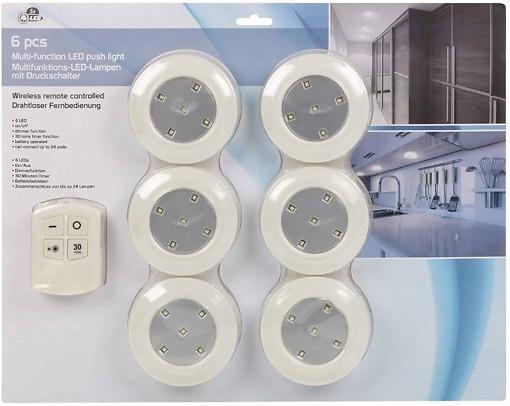 LED-valosarja+kauko-ohjain pakkaus