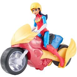 WonderWoman + pyörä