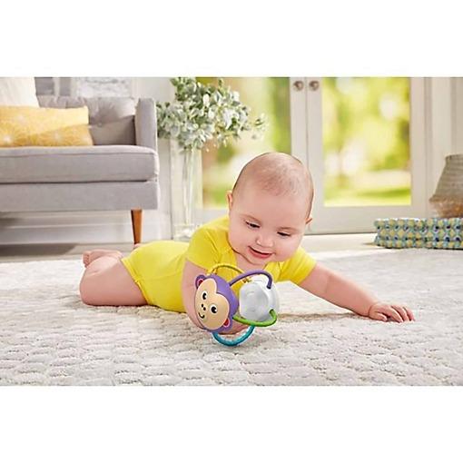 Lasten purulelu Twist'n Turn Rattle apina ja vauva