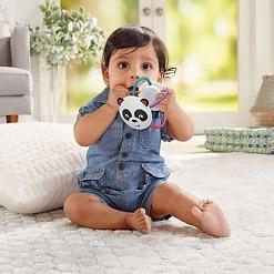 Lasten purulelu Twist'n Turn Rattle Panda ja vauva