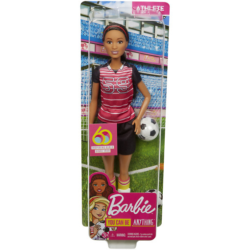 Barbie jalkapalloilija