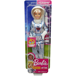 Astronautti Barbie pakkaus