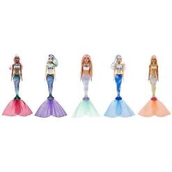 Merenneito yllätys-Barbie valikoima