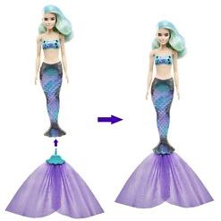 Merenneito yllätys-Barbie pyrstö