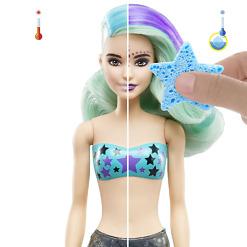 Merenneito yllätys-Barbie pakkaus