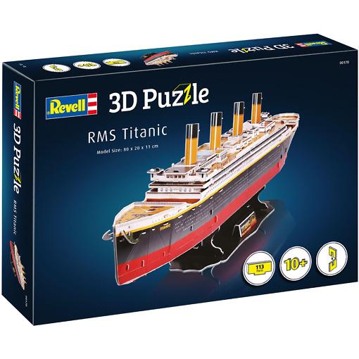 3D Titanic palapeli