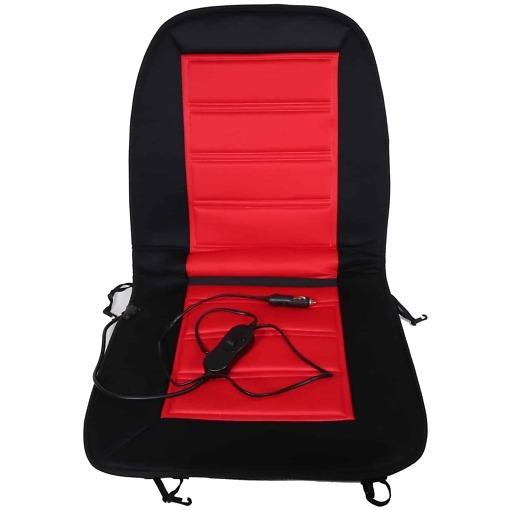 Auton istuinlämmitin punainen