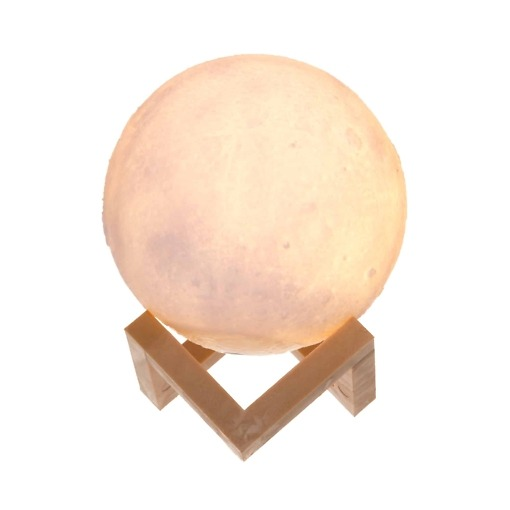 Koristevalaisin Kuu 15 cm Finnlumor