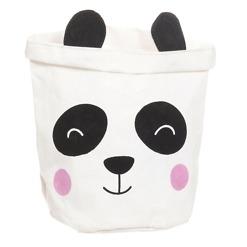 Säilytyskori Panda 20x20x25cm 4Living