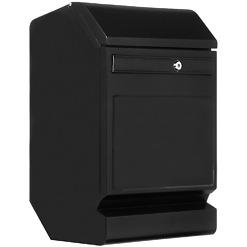 Finnbear lukittava postilaatikko musta