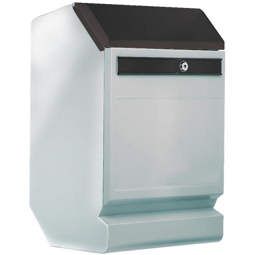 Finnbear lukittava postilaatikko teräs