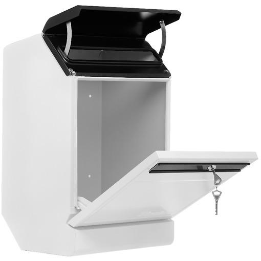 Finnbear lukittava postilaatikko valkoinen