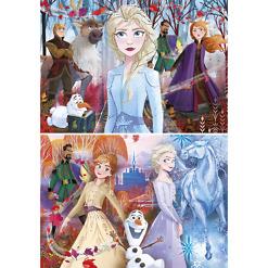 Lasten palapeli 2x20 palaa Frozen2