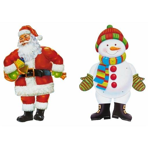 Joulupukki / lumiukko siluetti 110 cm