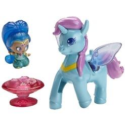 Poni ja nukke Shimmer & Shine Sininen Zahracorn