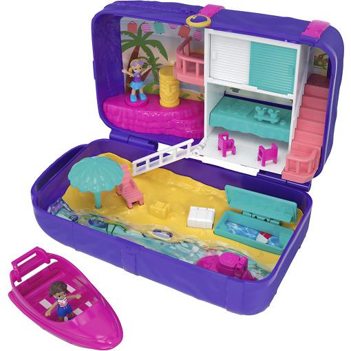 Piilopaikka leikkisetti uimaranta Polly Pocket