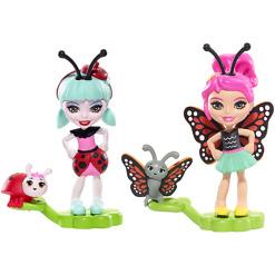 Mininiukke Enchantimals leppäkerttu ja perhonen