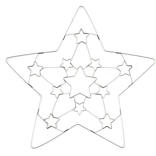 Winteria piparkakkumuotti tähti