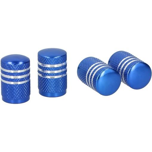 Venttiilihatut 4 kpl sininen