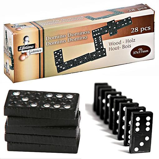 Dominopeli musta