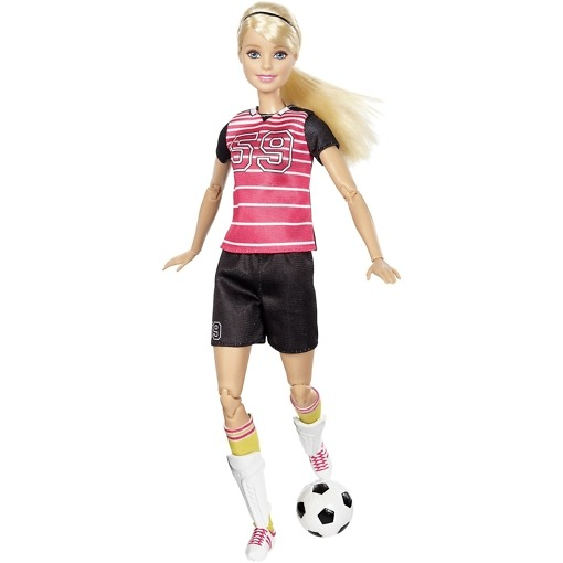 Jalkapalloilija Barbie