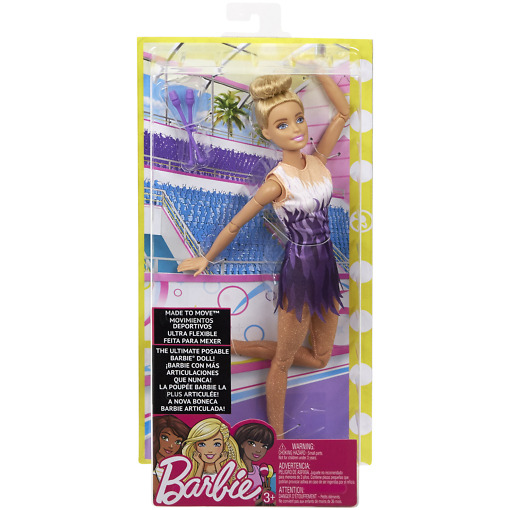 Voimistelija Barbie