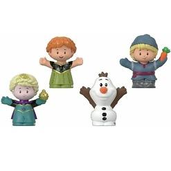 4 Frozen hahmoa Little People®