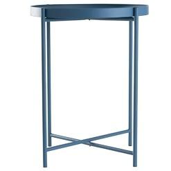 Day sininen metallipöytä