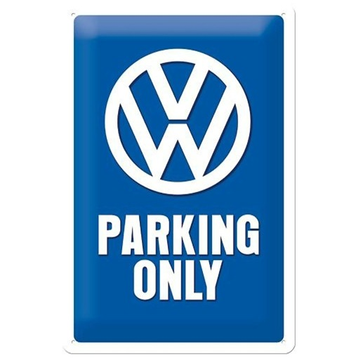 Peltikyltti 20x30 cm Volkswagen Parking Only