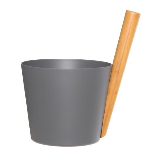 Saunakiulu alumiini harmaa Rento