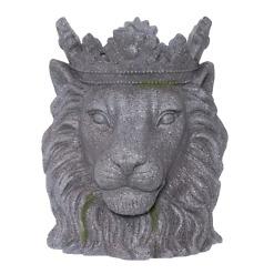 Ulkoruukku Leijona harmaa 39 cm 4Living