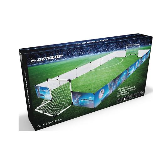 Jalkapallokenttä setti 426x235x36 cm Dunlop