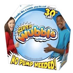 Kuplapallo sininen Super Wubble