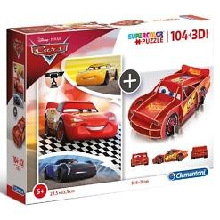 Autot palapeli 3D