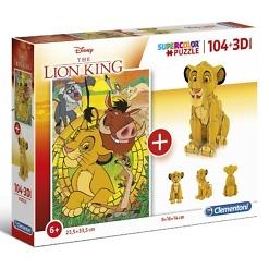 Leijonakuningas palapeli 3D