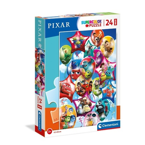 Maxi palapeli 24 palaa Pixar-hahmot Clementoni