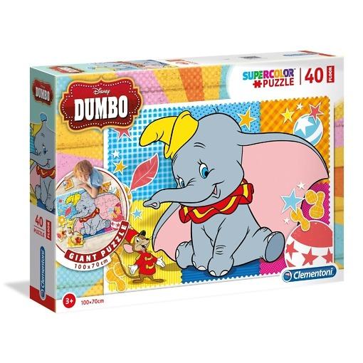 Palapeli 40 palaa Dumbo Clementoni