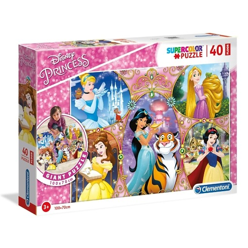 Palapeli 40 palaa Disneyn prinsessat Clementoni