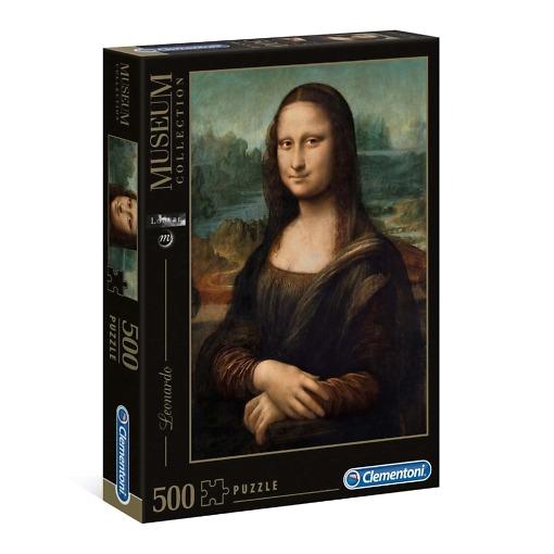 Palapeli 500 palaa Mona Lisa Clementoni