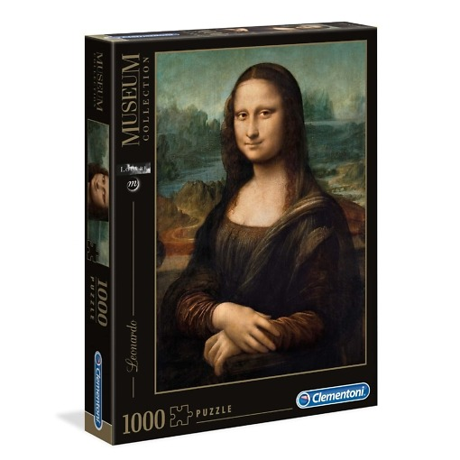 Palapeli 1000 palaa Mona Lisa Clementoni