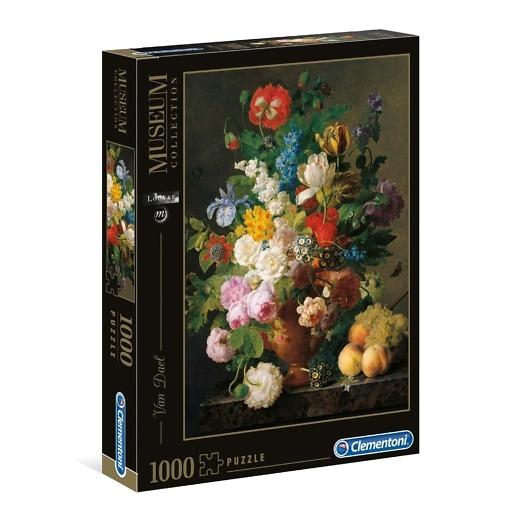 Palapeli 1000 palaa Van Dael kukat Clementoni
