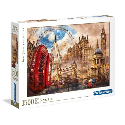 Palapeli 1500 palaa Lontoo Clementoni