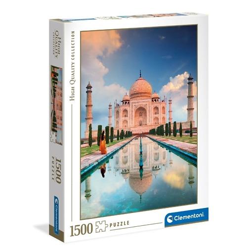 Palapeli 1500 palaa Taj Mahal Clementoni