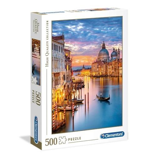 Palapeli 500 palaa Venetsia Clementoni