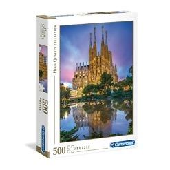Palapeli 500 palaa Barcelona Clementoni