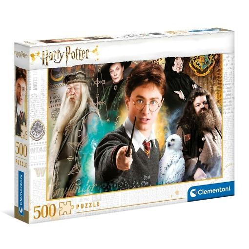 Palapeli 500 palaa Harry Potter Clementoni